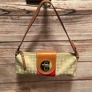 Kate Spade Mini Turnlock Baguette - Rare Design!